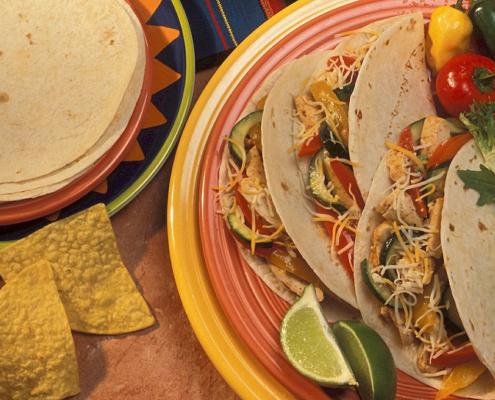 Recette-fajitas-au-poulet-avec-tortillas-Elma